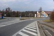 Kruhový objezd - ilustrační foto