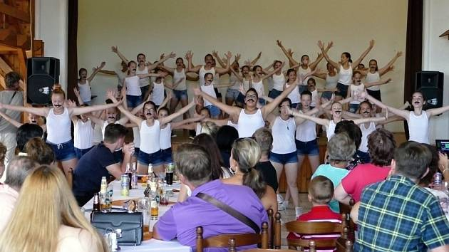 Loučení taneční skupiny Victory Dance s úspěšnou soutěžní sezonou 2017/2018.
