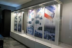 Výstava Muzea Těšínska v budově Památníku životické tragédie v Havířově.