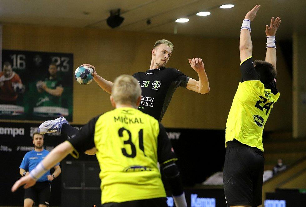 Házenkáři Karviné si výhrou nad Zubřím v pátém utkání čtvrtfinále zajistili boj o medaile.