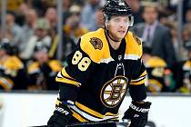Hvězda Bostonu i NHL David Pastrňák.