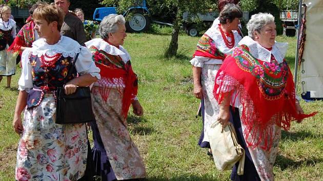 V obecní části Věřňovice se o víkendu setkali čeští obyvatelé Dolní Lutyně se svými polskými sousedy.