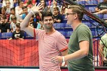 Jan Sobol (vlevo) se loučí (spolu s kolegou Janem Landou) s reprezentační kariérou.