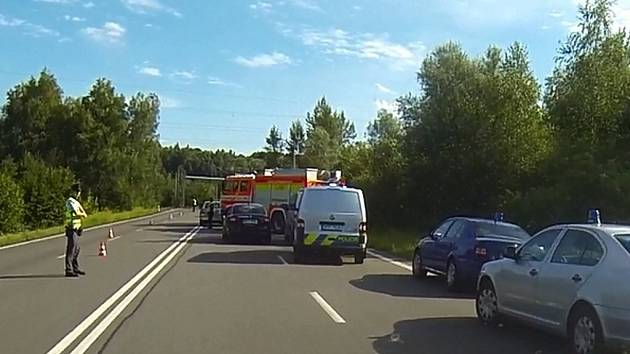 Tragická nehoda v Orlové.