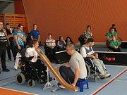 Mezinárodní turnaj v boccie.
