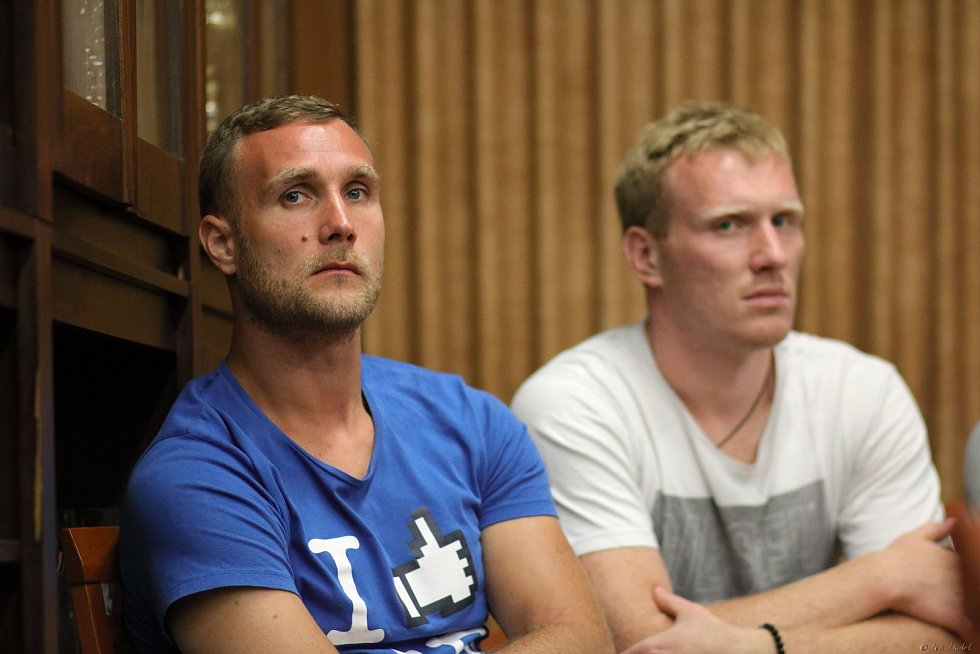 Mirza Mimić a Jan Zbranek.