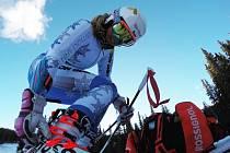 Kateřina Pauláthová zabojovala a skončila v první třicítce obřího slalomu.