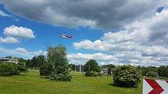 Vrtulník se mohl z Havířova vrátit na základnu prázdný.