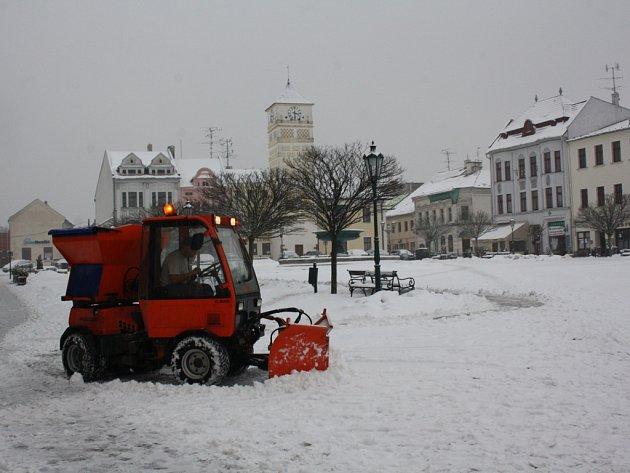 Zima v Karviné.