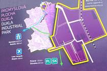 Areál bývalé havířovské černouhelné šachty Dukla se změní v průmyslový park.
