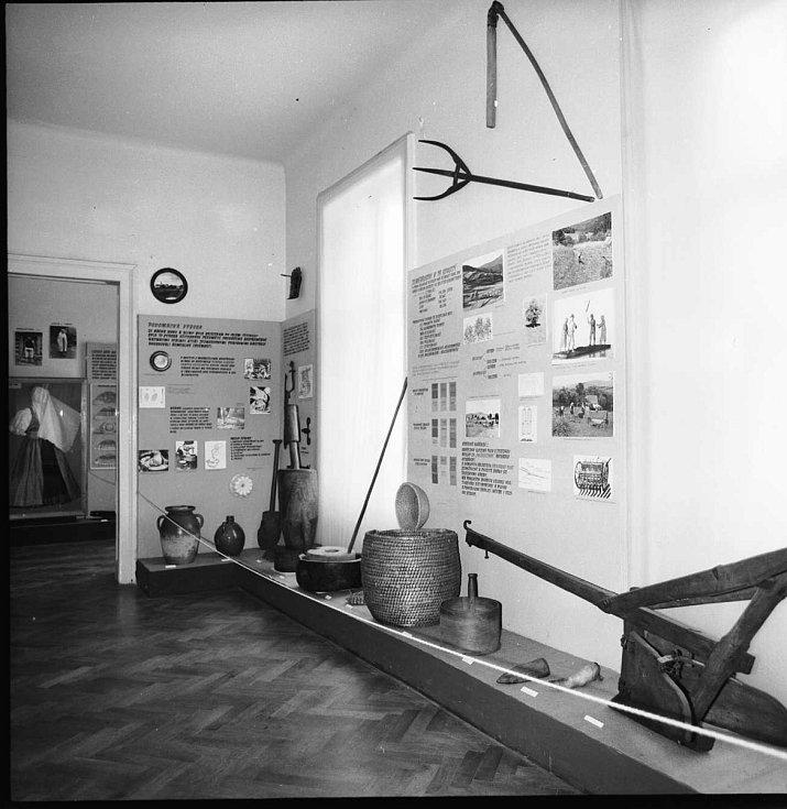 Takto vypadaly zdejší expozice v roce 1967.