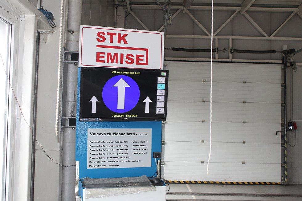 Karviná, stanice technické kontroly.