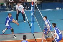 Volejbalisté Havířova vyhráli napínavý zápas v Odolena Vodě.