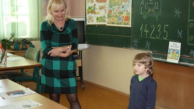 Zápis budoucích prvňáčků na ZŠ Frýdecká v Havířově-Bludovicích.