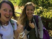 Karin Žolnerčíková a Šarlota Svobodová uspěly v Praze a jedou do Badenu.