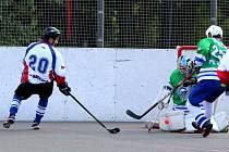 Hokejbalisté přešli přes Dobřany do semifinále.
