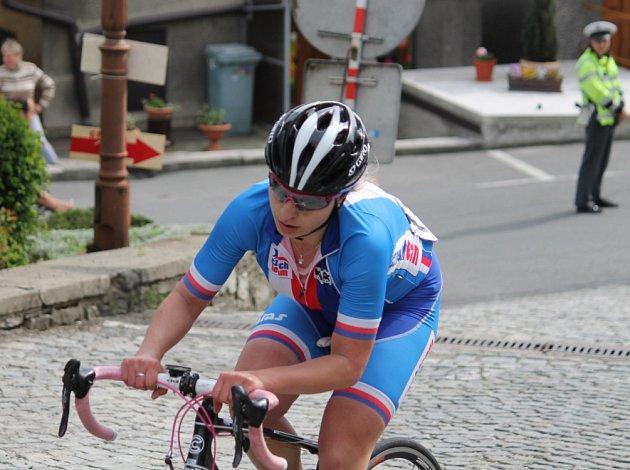 Cyklistky ve Štramberku.