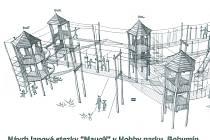 Takto by měla vypadat Mauglího stezka v v bohumínském Hobbyparku.