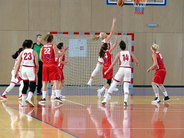 Basketbalistky na výhry tentokrát nedosáhly.