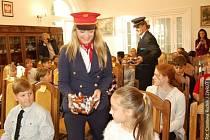 Dvojjazyčná akce, které se účastnili žáci Základní školy s polským jazykem vyučovacím v Dolní Lutyni a žáci ZŠ A. Jiráska Dolní Lutyně.