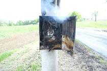 Neznámí ptáci útočili na osvětlení ve Stonavě na Karvinsku, až začalo hořet.