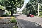 Orlová-Město. Nádražní ulice.