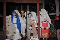 Školáci si připravili vánoční program.