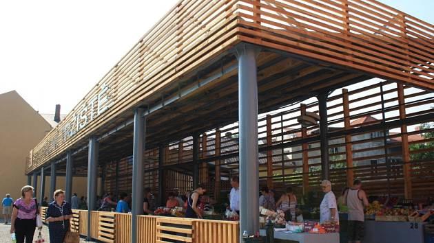 Rekonstruovaná tržnice v Karviné.