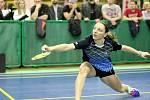 Badmintonový turnaj láká českou špičku.