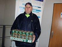 Alfréd Rychlik, další majitel pivního kartonu.