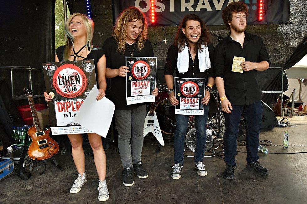 Polská kapela HURROCKAINE vyhrála letošní ročník Líhně.