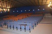 Rekonstruované kino Centrum v Karviné.