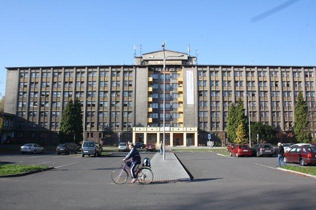 Ubytovna Předvoj vKarviné.