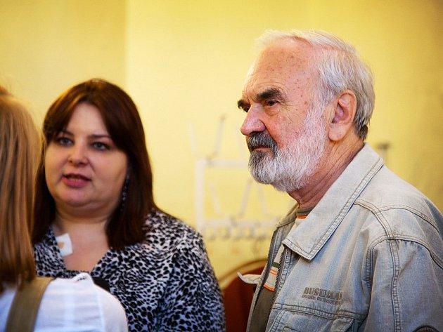 V sobotu se na zahájení filmového festivalu Kino na hranici v Těšíně objevil i uznávaný scénárista a spisovatel Zdeněk Svěrák.