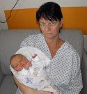 Filípek Driečný se narodil 21. dubna paní Daniele Pinkasové z Petrovic. Po porodu miminko vážilo 3740 g a měřilo 50 cm.