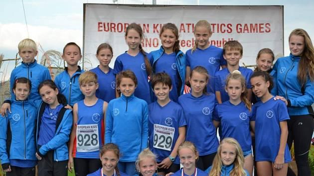 Frýdecko-místečtí atleti získali na Evropských atletických hrách mládeže pět medailí.