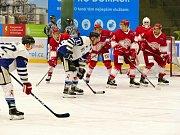 Havířov vs. Frýdek-Místek (v červeném).