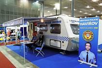 Městská policie Havířov na veletrhu ISET v Brně.