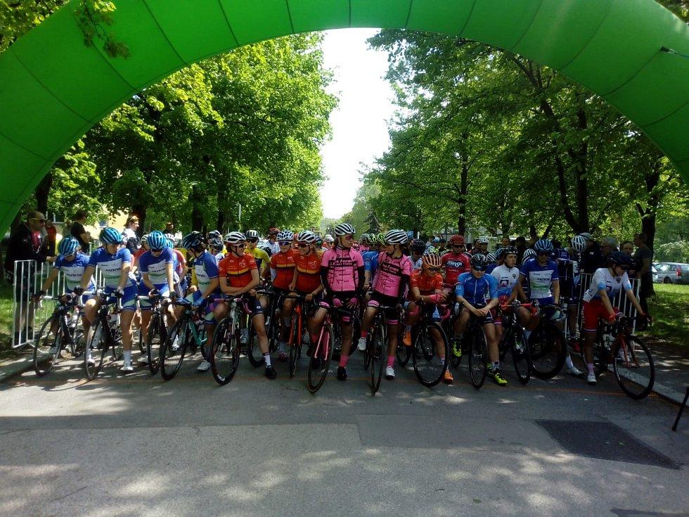 Start závodu v Orlové.
