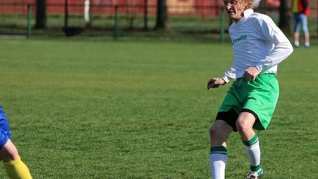 Vladimír Neuman podal spolehlivý výkon, ale limituje ho bolavá pata.