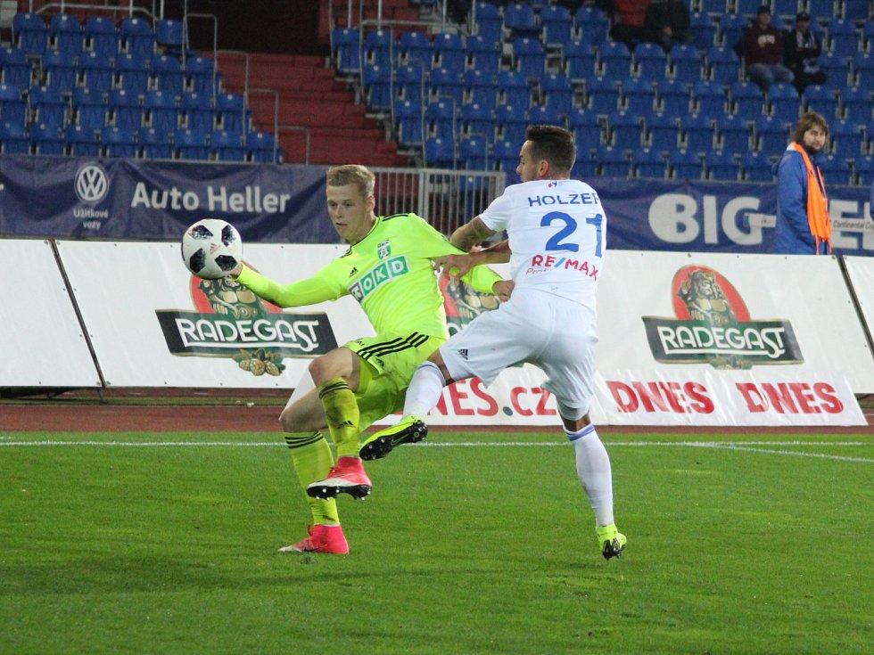 Filip Panák (vlevo) znovu předvedl spolehlivý výkon.