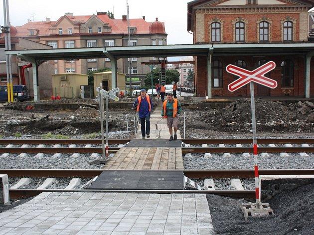 Stavební práce si na nádraží vyžádaly různá omezení.