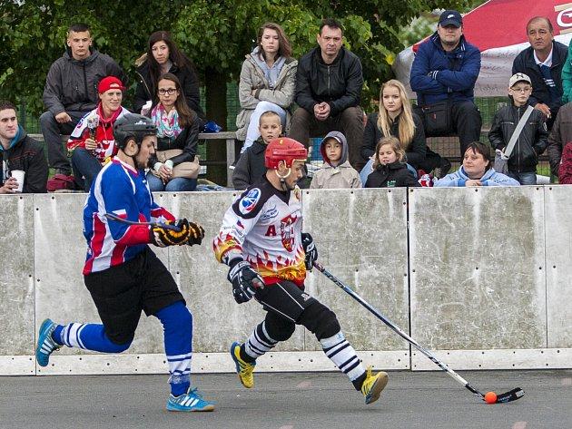 Hokejbalisté Karviné nestřílejí góly.