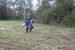 Adrenalinová soutěž Útěk v řetězech.