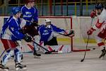 Orlovští hokejisté uhráli první domácí výhru.