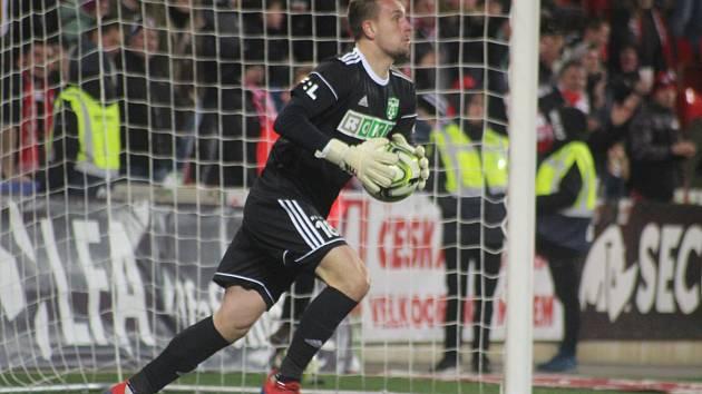 Martin Pastornický v utkání na Slavii.