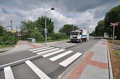 Před třemi lety vyrostl nasvětlený přechod v Bohumíně v Lidické ulici u železniční lávky pro pěší.
