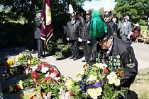 Pietní akt u památníku 108 horníků zemřelých v roce 1961 při požáru v podzemí Dolu Dukla v Havířově-Dolní Suché.