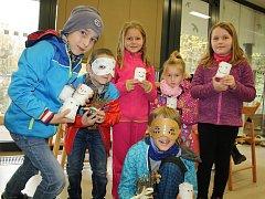 Dušičková akce v Archeoparku patřila také dětem.