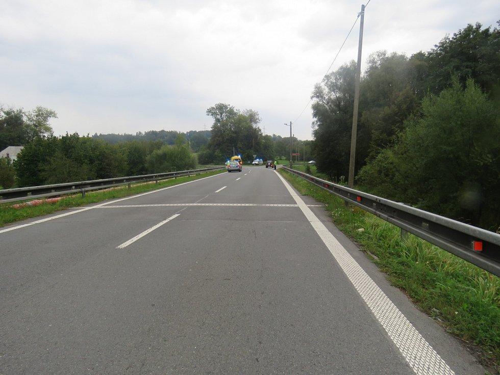 Místo tragické nehody v Těrlicku.